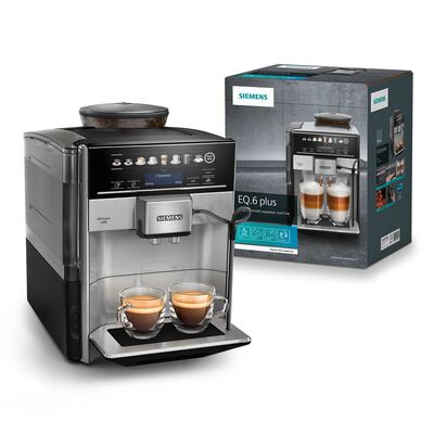 Siemens TE655203RW Fully automatic coffee machine EQ.6 plus s500 Grafit